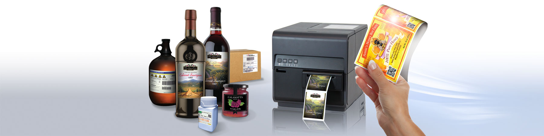 Swiftcolor Digital Inkjet On Demand Short Run Label Printing