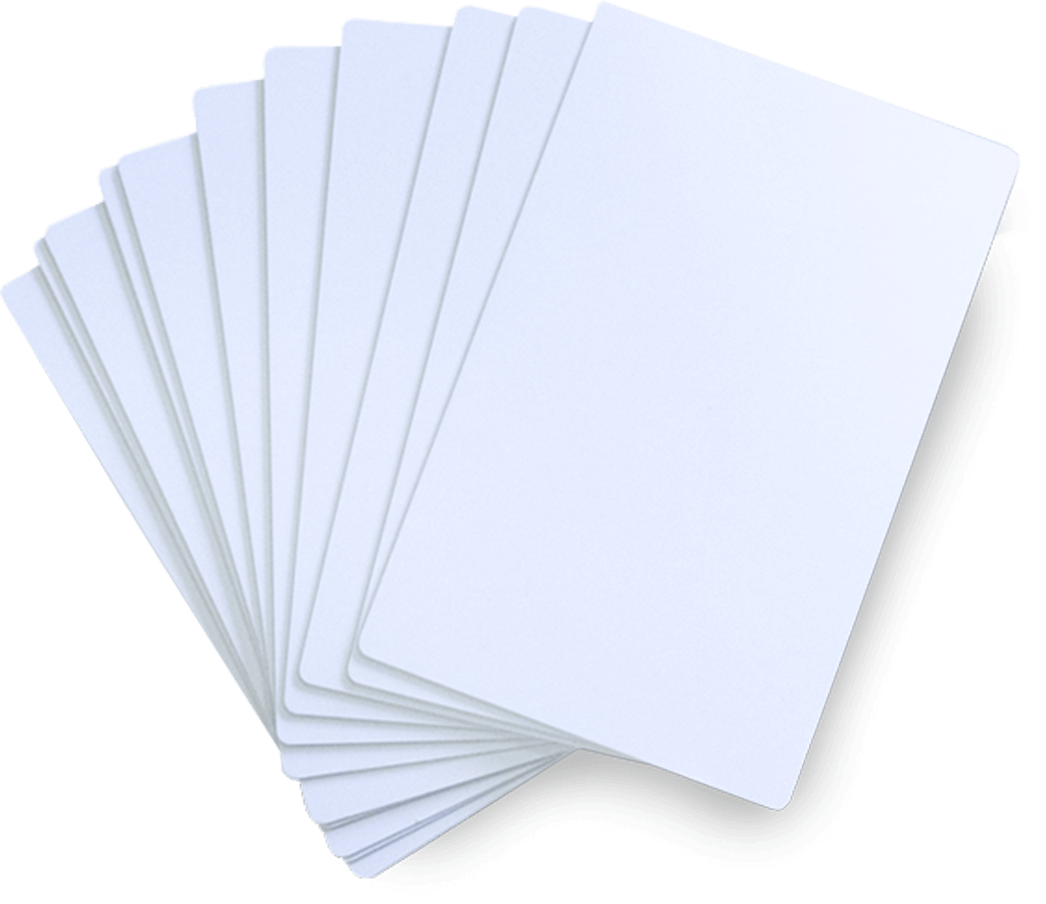 paper and pvc cards
