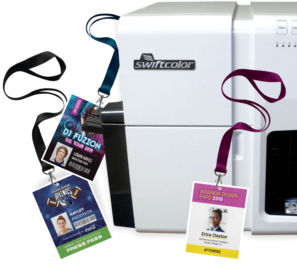 SwiftColor Card Printer